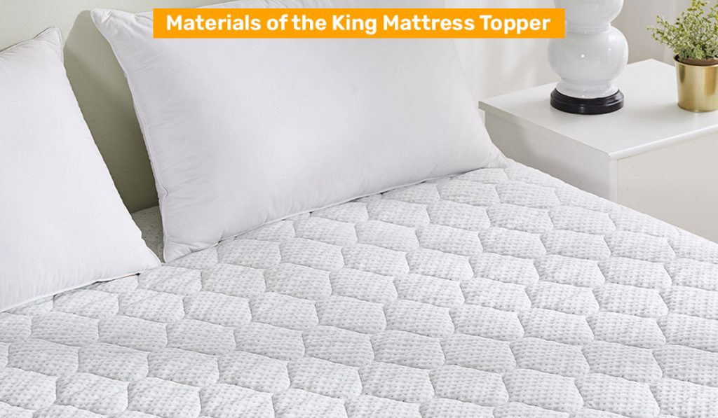 king mattress toppers
