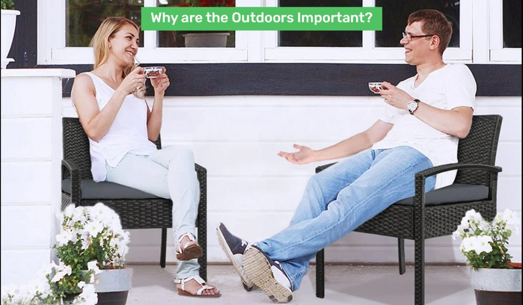 outdoor table chair